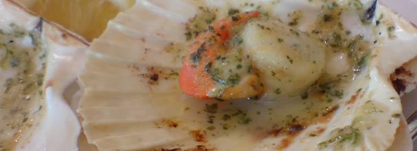 capesante salsa