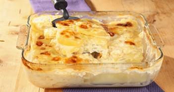 Gratin di patate miste alla fontina